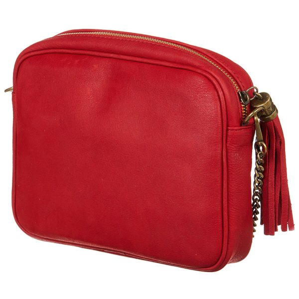 Sac à main Abaco Studio Sari rouge