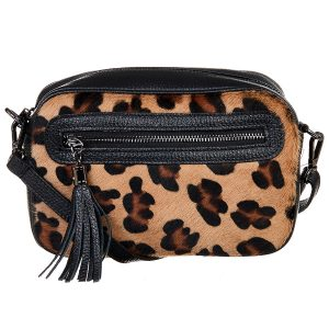 Sac à main Abaco Studio Safa léopard